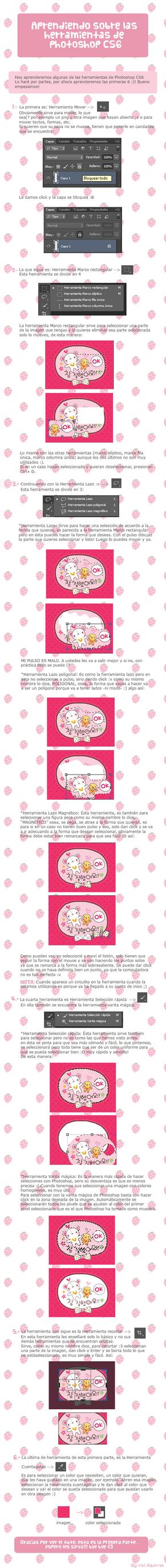 Aprendiendo Herramientas de Photoshop cs6 parte I by Pandi-chuu