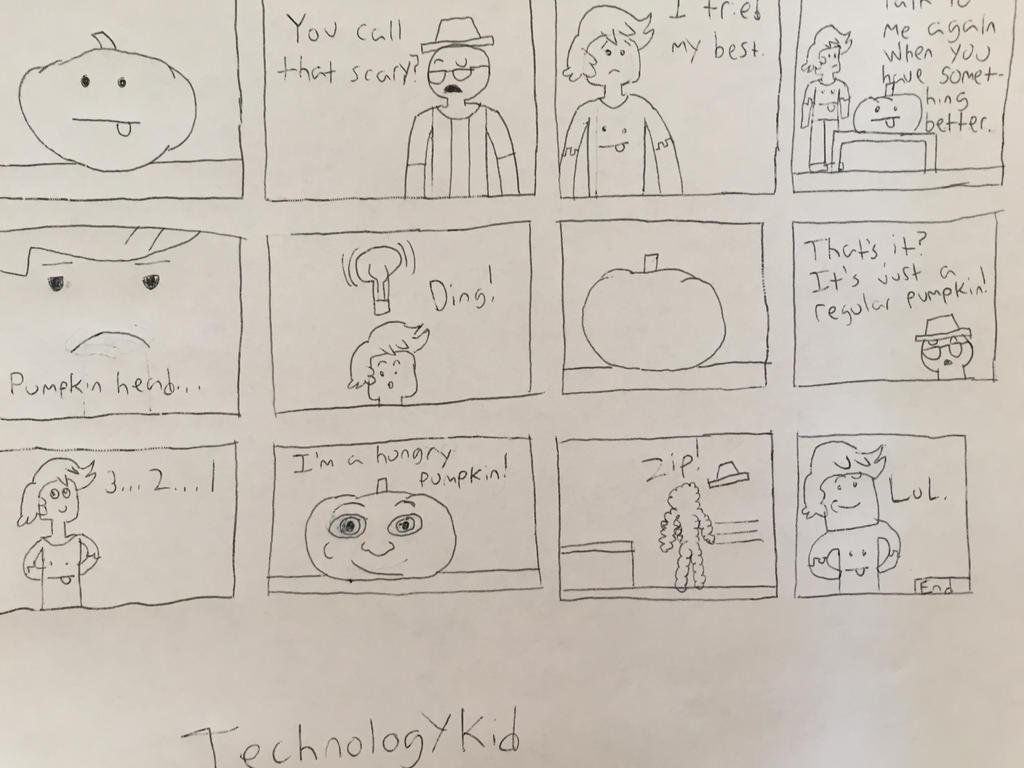 Milieus's pumpkin. by Technologykid