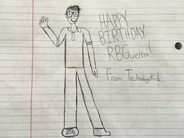 Happy Birthday RBGuerra