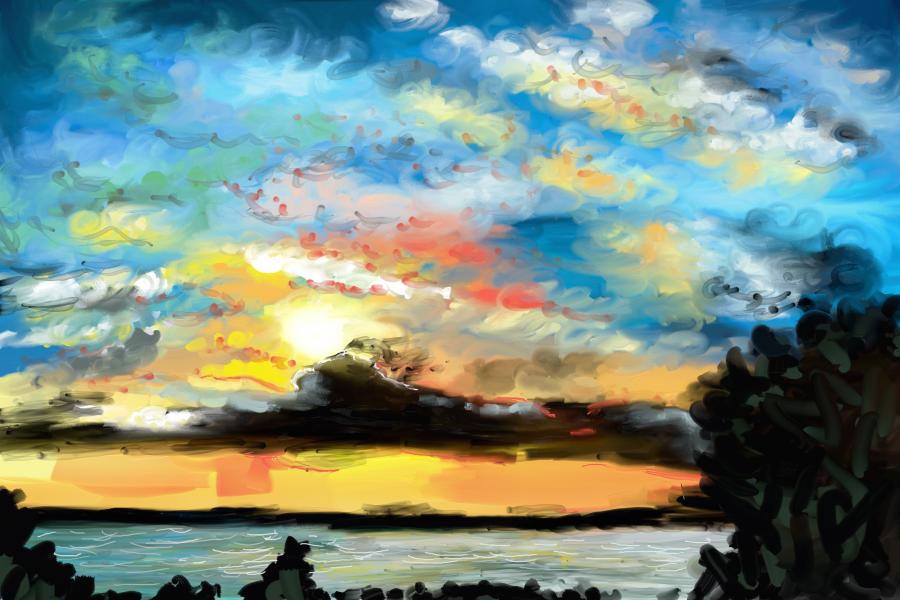Oil Painting Speedpaint Daydream