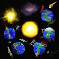 World Evolution (2013) by Meekochan
