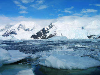 Antarctic Landscape 2 by Serendith