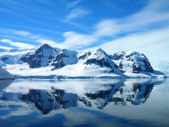 Antarctic Landscape 4 by Serendith