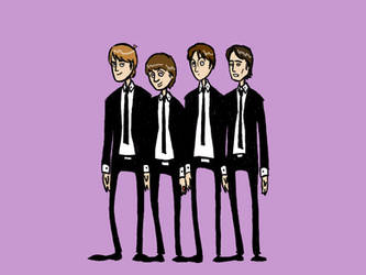 Rock Gallery - The Beatles by Paups
