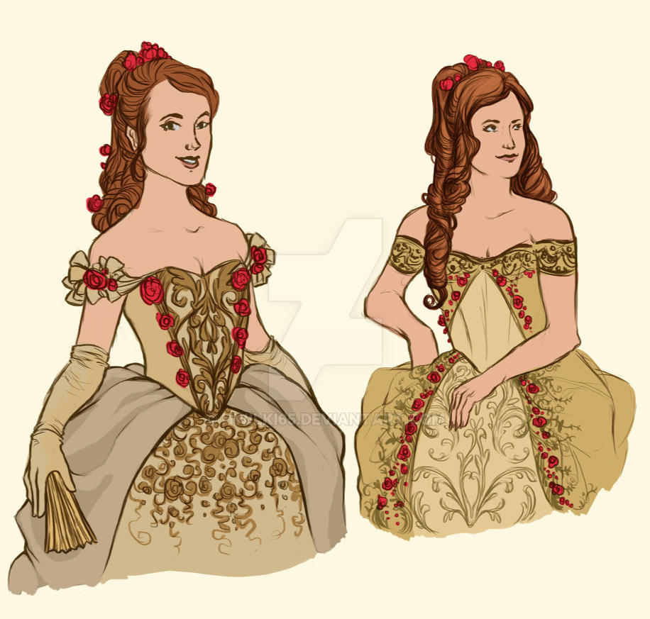 Belle Dress Designs By Hwilki65