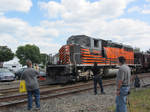 Flock of railfans