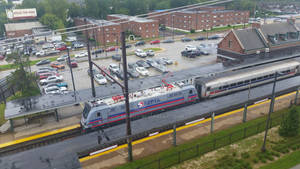 SEPTA 909 from above
