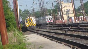 Throwback: SEPTA train passed by Keystone