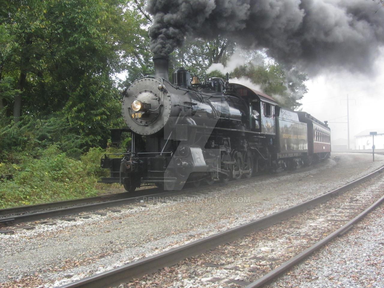 A smokey departure