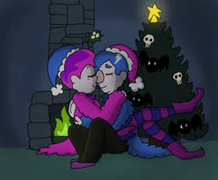 CHRISTMAS CUDDLING! by pamlaisly232