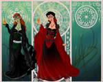 Regina and Zelena by pamlaisly232