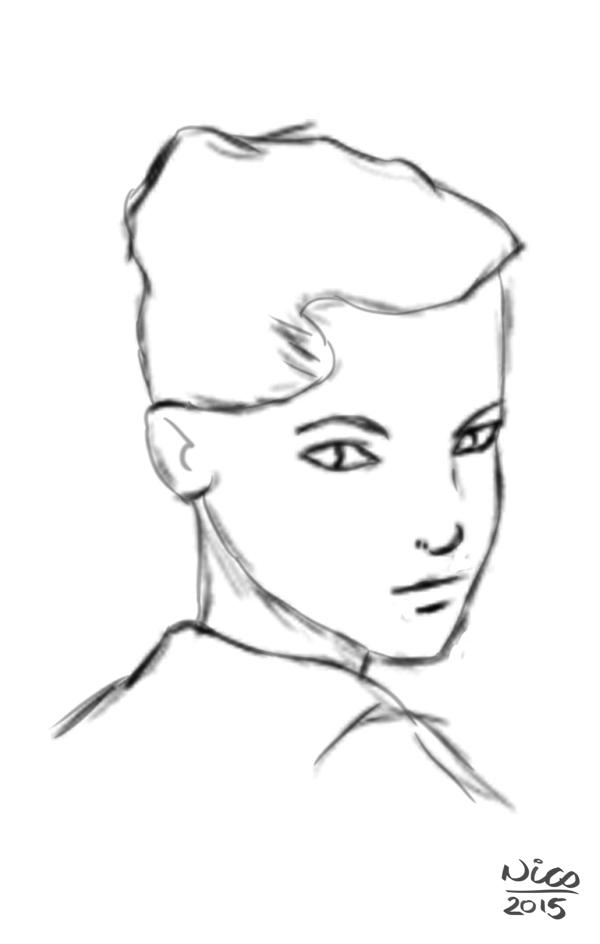 Sketch_Femal_Face by DropkickNicos