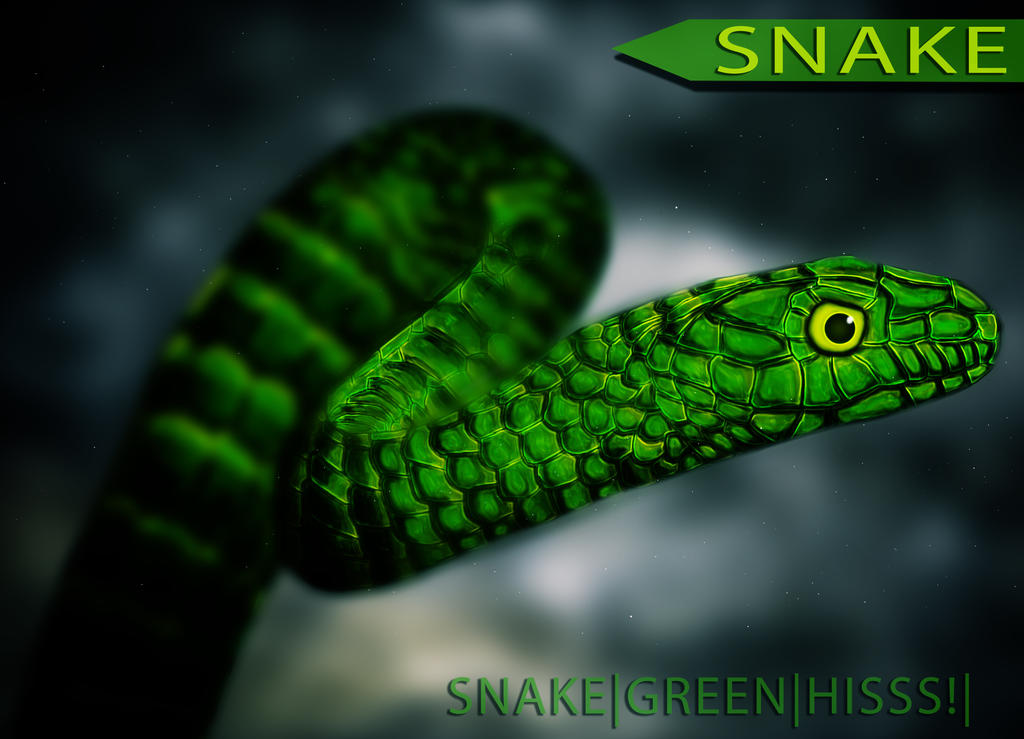 Snake Poster Concept by DropkickNicos