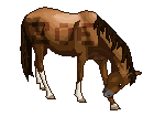 Pixel Horse Bow by ponylov