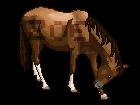 Pixel Horse Bow by ponylov
