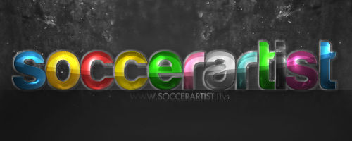 SoccerArtist.it Banner