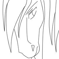 PNG Horse avatar Template by Night-meru