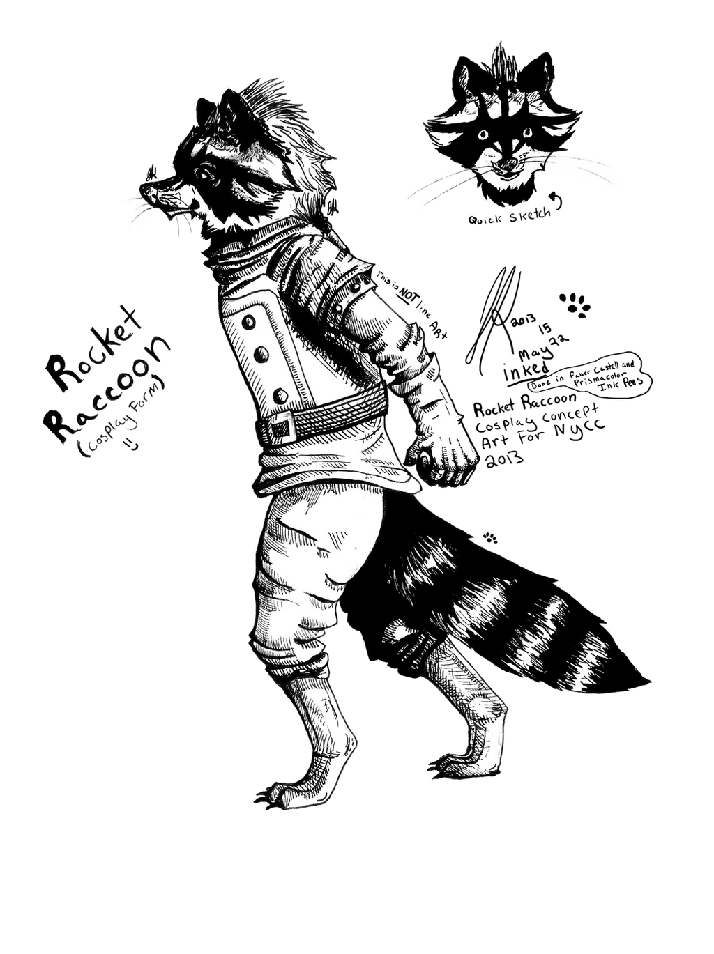Magnificent Rocket Raccoon Coloring Page Image - Examples ...