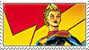 Stamp: Captain Marvel 1 by heliodorh