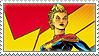 Stamp: Captain Marvel 1 by heliodorh