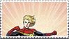 Stamp: Captain Marvel 2 by heliodorh