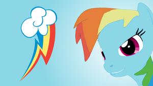 [SFM Pony Wallpaper] Rainbow Dash by Nutrafin