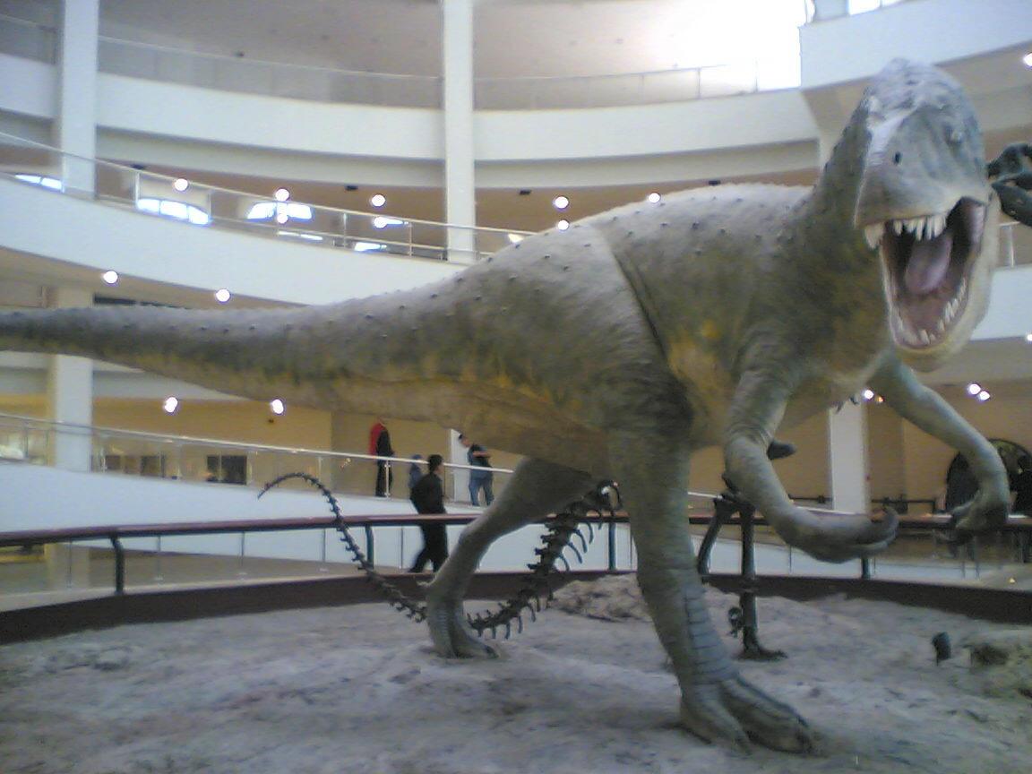Dinozours by alorak