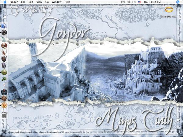 Minas Tirith Wallpaper By Insanehusky On Deviantart