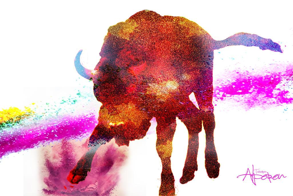 Bison by Kartalbey