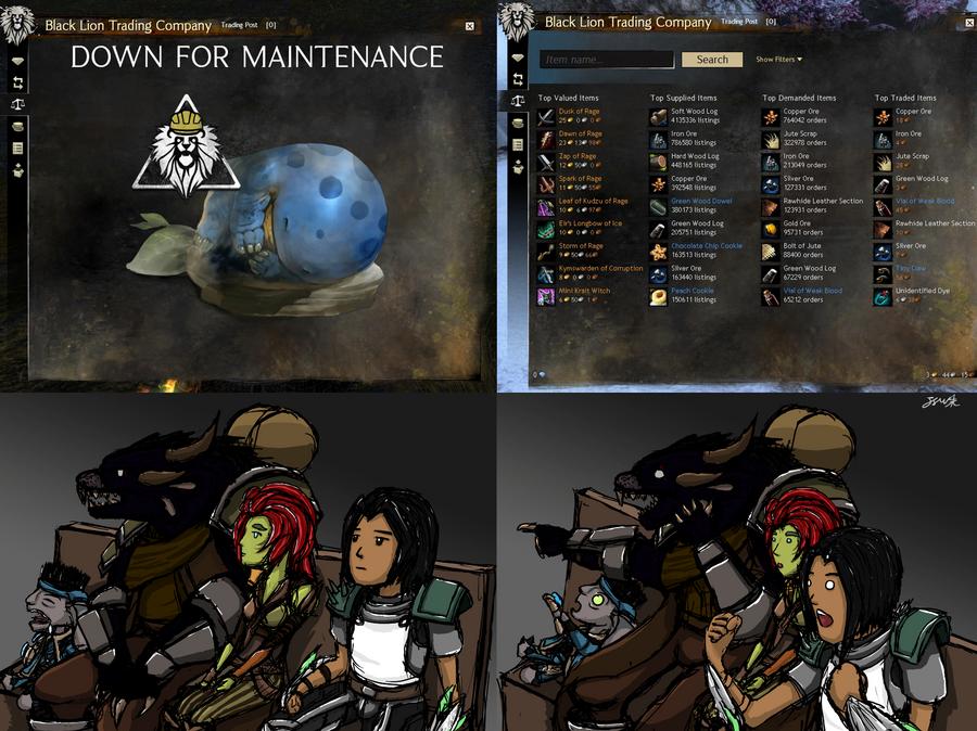 Gw2 trading post under maintenance