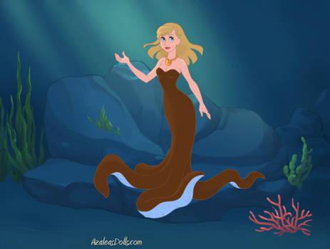 Lori Loud as a sea witch