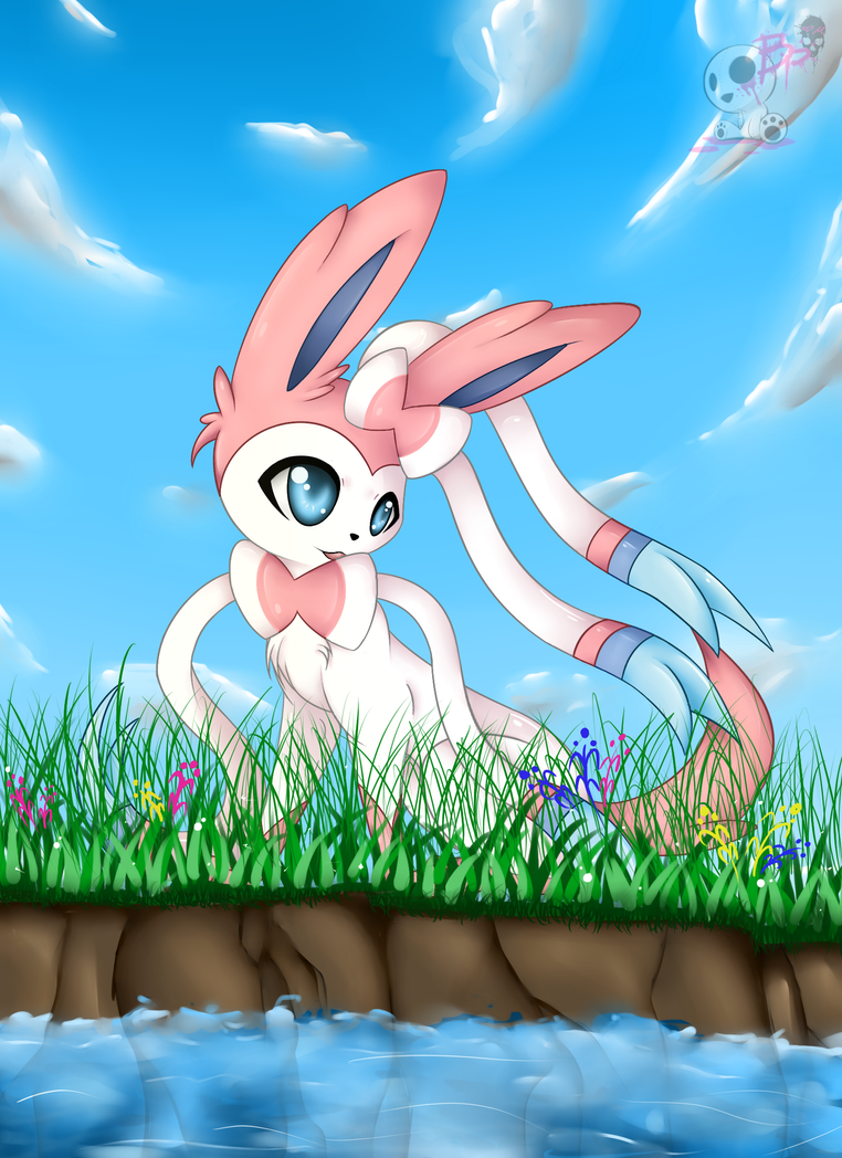 Sylveon by BloodyPink-M