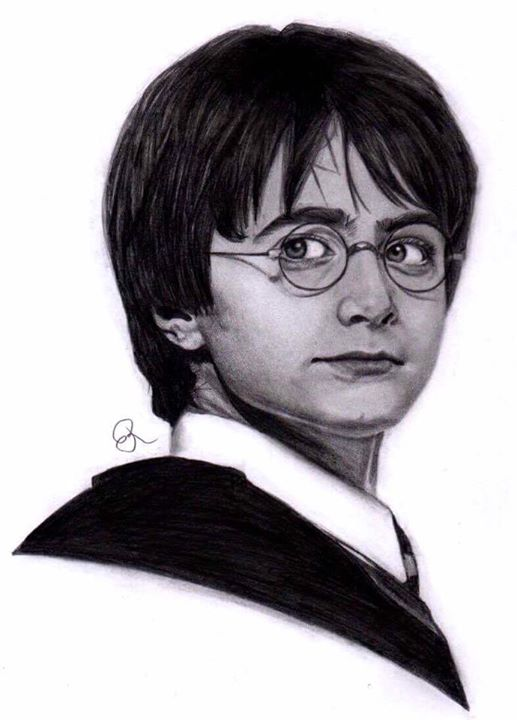 Harry Potter by bowtiesrcwl