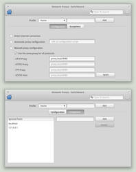 network proxys - switchboard by Felerias