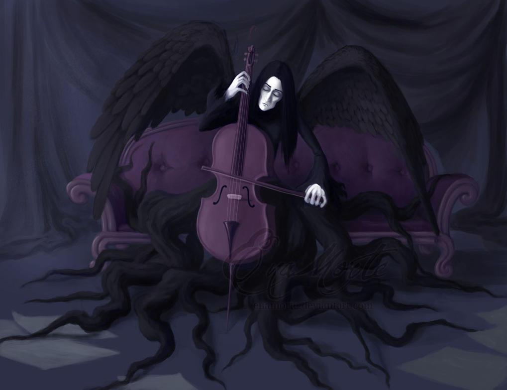 Death as a Cellist by Enamorte