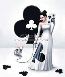 Lady of Clubs by Enamorte