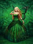 Emerald Wings by Enamorte