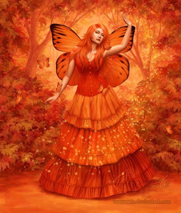 Autumn Fire by Enamorte