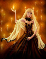 Burning Gold by Enamorte