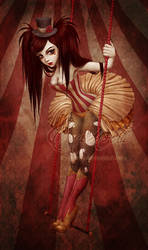 The Flying Trapeze by Enamorte