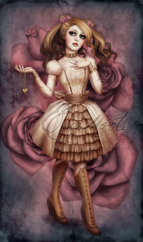 Forgotten Rose by Enamorte