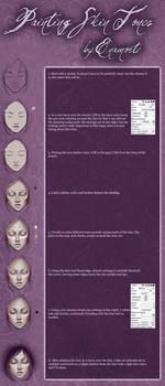 Skin tutorial for Paint Tool SAI