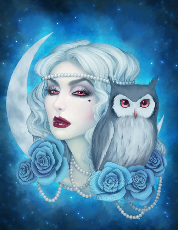 Lunar vibes by Enamorte