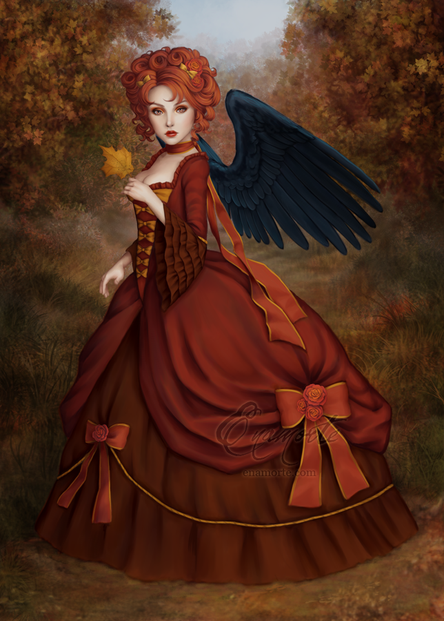 Autumn Angel by Enamorte