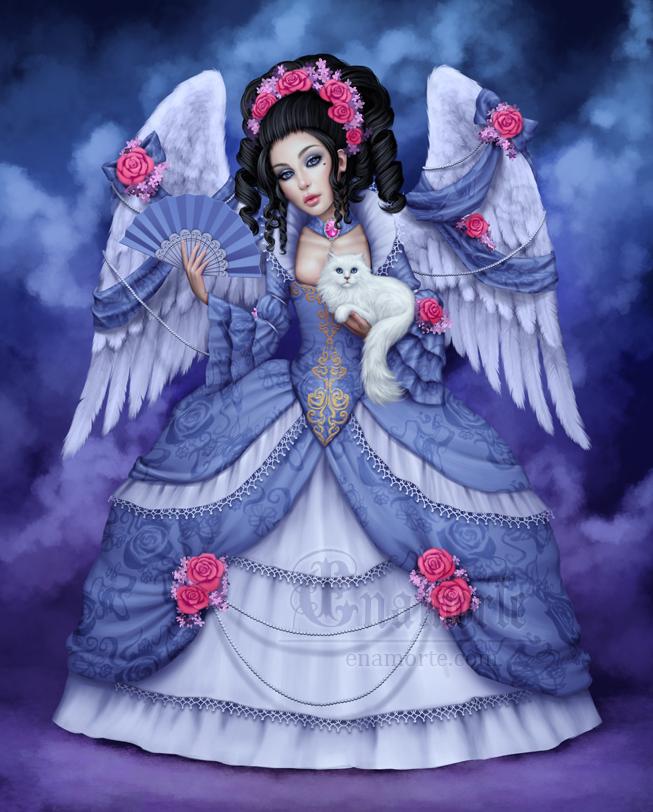La comtesse et le catto by Enamorte
