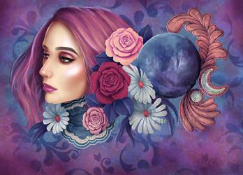 Crystal ball by Enamorte