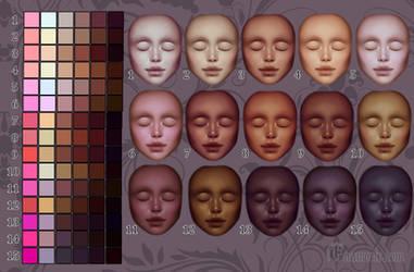 Skin tones remake II