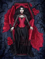 Red Silk by Enamorte