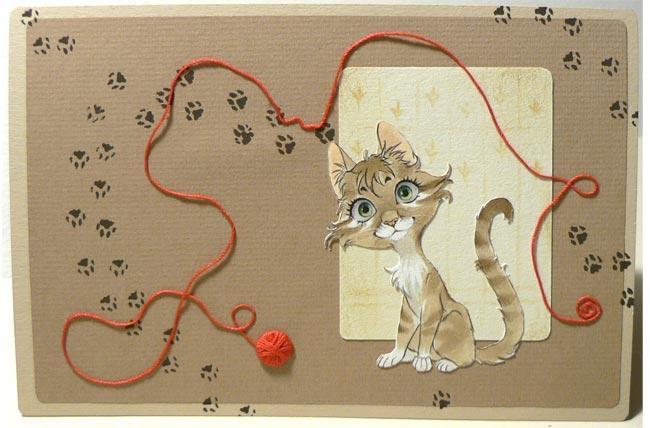playful cat by Neko-Art