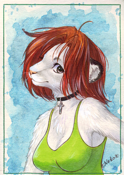 ACEO for Suane by Neko-Art